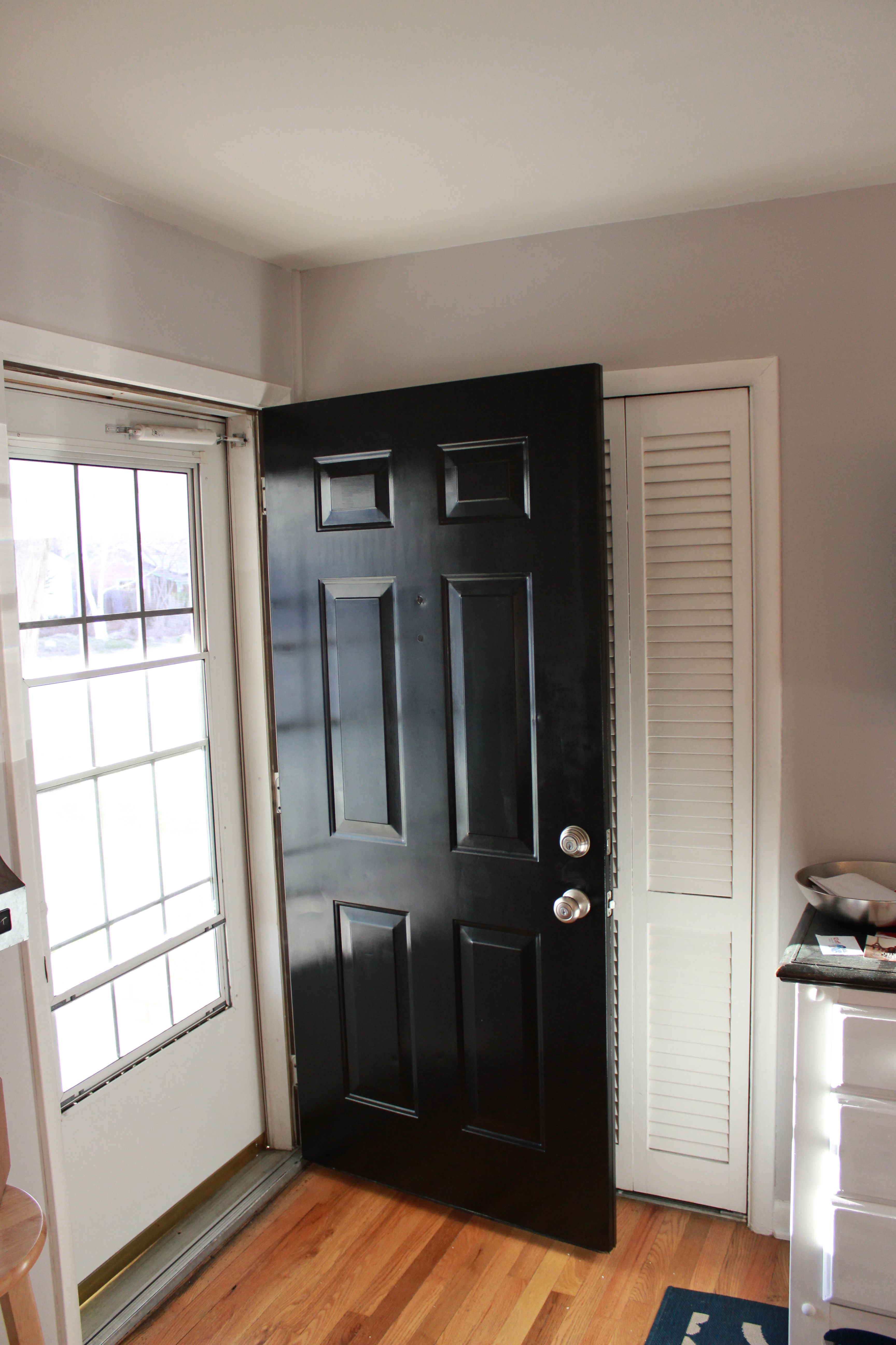 5184 #946137 Painting A Metal Front Door House Of Bennetts save image Painting Metal Doors 47473456