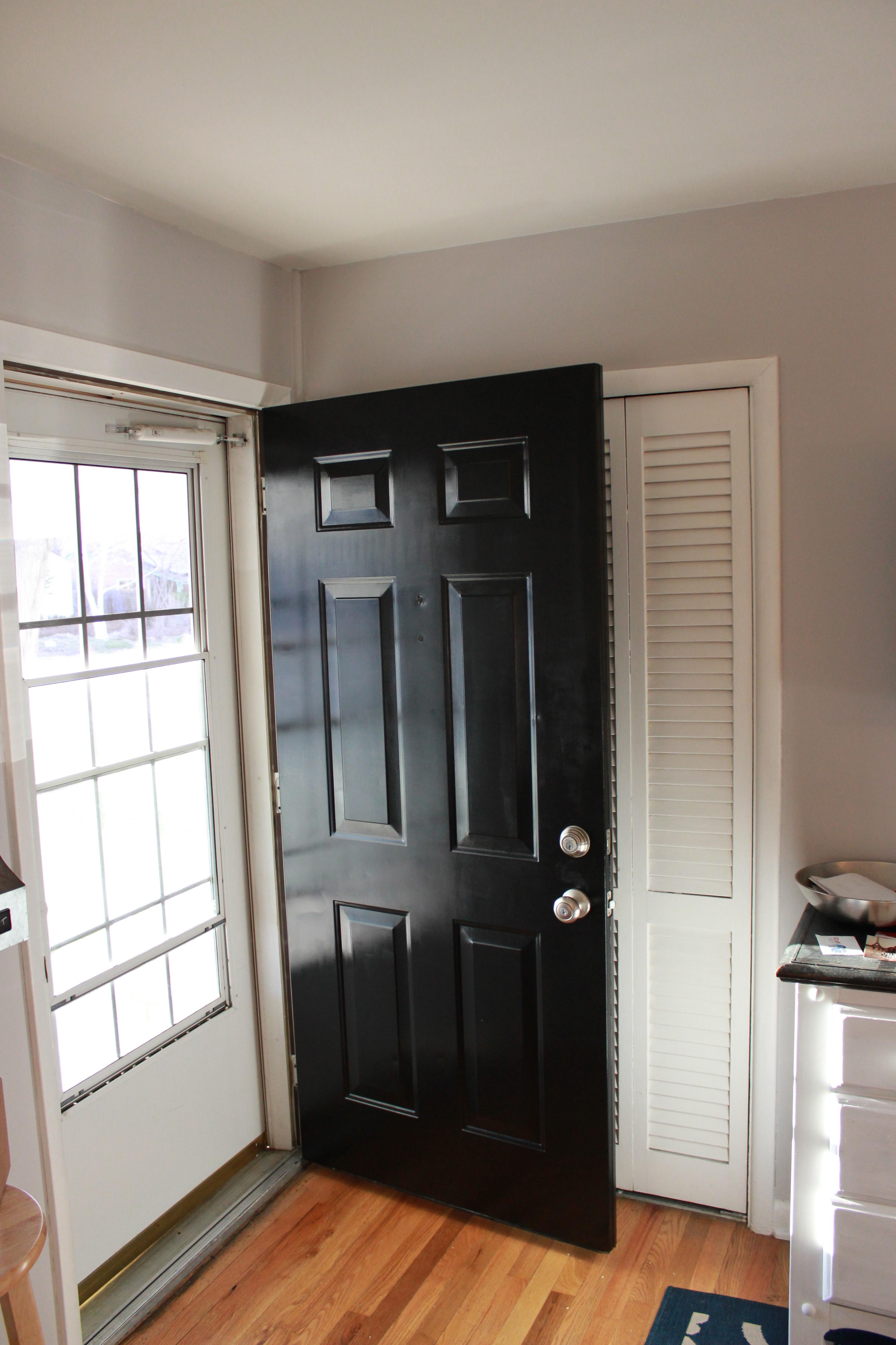 front doors painting metal front door. Black Bedroom Furniture Sets. Home Design Ideas
